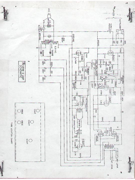 diagram schematic amp linear fm